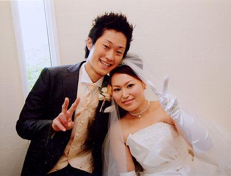 今年の初夏にご結婚の百恵様と哲朗様 2011年には新しい家族が誕生するそうです。 本当におめでとうございます。