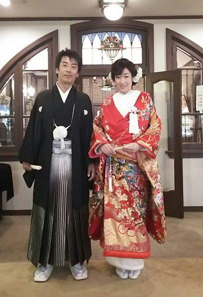 堅実で穏やかなTさま。素敵なご主人様の待つ高知へ嫁がれました。末永くお幸せに!!