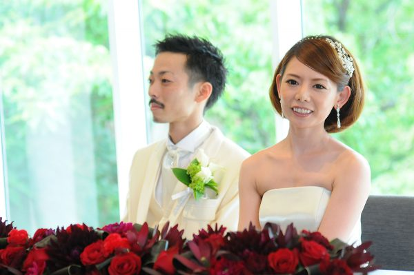 2014年7月にご結婚されましたS様 おめでとうございます! いつまでもお幸せに!!