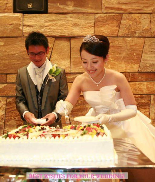 ご結婚、おめでとうございます。 末永くお幸せに…。