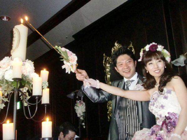 2013年3月にご結婚されましたS様 いつまでもお幸せに!